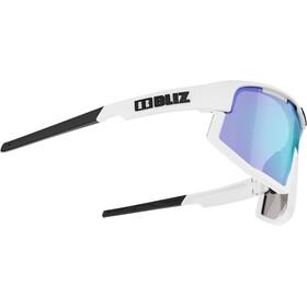 Bliz Vision M13 Glasses matt white/smoke with blue multi